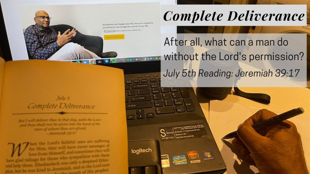 Let's Talk 60 Seconds With Charles Spurgeon: Complete Deliverance